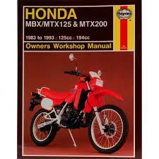 honda mtx manual haynes for 1992 honda mtx 125 rwl disc ebay