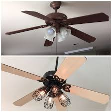 Fan Light Covers Best 25 Ceiling Fan Makeover Ideas On Pinterest Ceiling Fan