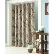 bathroom modern bathroom design with extra long shower curtain