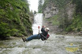 Water Challenge Motion Outdoor Challenge And Adventuretrekking With Flying Fox Abseiling