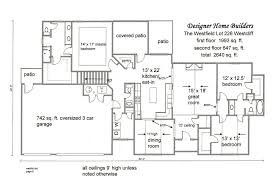 floor plans for ranch homes with walkout basement ranch house plans with basement simple open floor luxury custom