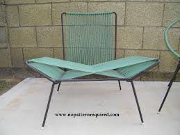 Mid Century Outdoor Chairs 1950s Patio Furniture No Pattern Required