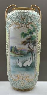 Antique China Vases 379 Best Nippon Porcelain Handpainted Images On Pinterest
