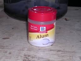 alum photo living prepared water and how to easily clarify before
