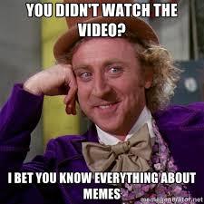 Meme Knowledge - quiz top 10 internet memes uni paris saclay