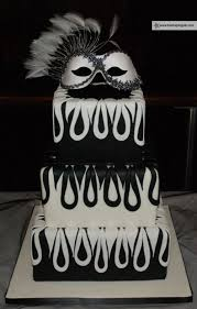 1519 best black and white cakes images on pinterest amazing
