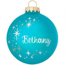 birthstone ornament christmas ornanments personalized glass
