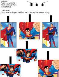 superman mobil decor superman party decorations free printable