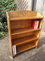 Oak Bookshelves by Arts U0026 Crafts Oak Bookshelves With Yin Yang Antiques Atlas