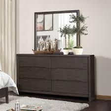 Grey Bedroom Dressers by Homelegance Lavinia 6 Drawer Dresser In Weathered Grey Beyond Stores