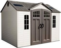 lifetime sheds plastic deck storage box 60012