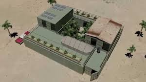 cargo shipping container house survivalist fortress compact youtube