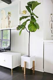 plant stand midcentury modern danish indoor rosewood planter