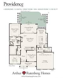 Arthur Rutenberg Homes Floor Plans Providence Home Plan Custom Home Builders In Greenville