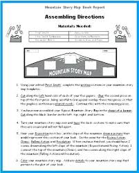 book report template 4th grade story map template bfie me