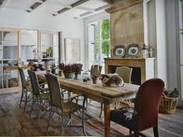 dinning reclaimed wood table rustic dining chairs reclaimed wood
