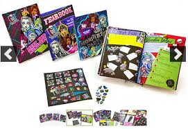 4 monster books stickers 19 99 shipped jinxy kids