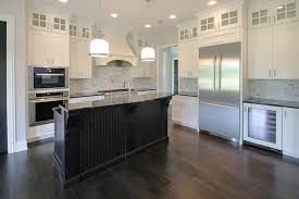 White Kitchen Dark Island Kitchen Cabinets U2022 Warner Cabinets