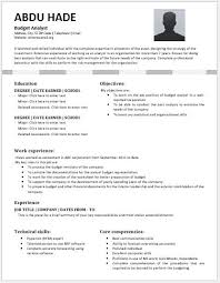 federal resume templates budget analyst resume amazing here are writing a federal resume