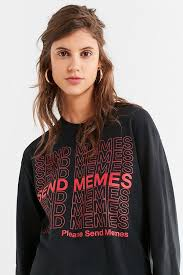 f ck jerry uo send memes long sleeve tee urban outfitters