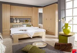 chambre pont pas cher ensemble lit et environnement contemporain coloris hêtre omega