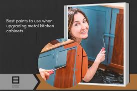 what is the best paint for metal cabinets how to restore or upgrade your metal kitchen cabinets at