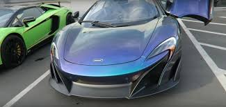 mclaren p1 custom paint job mclaren 675lt spider with 60 000 mso paint may be the world u0027s