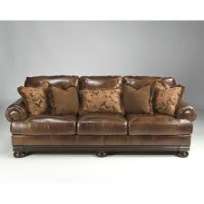 ashley leather sofa recliner furniture home ashley furniture leather sofa loveinfelix 3