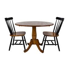 used table and chairs for sale 61 off glass top dining table and leather chairs tables
