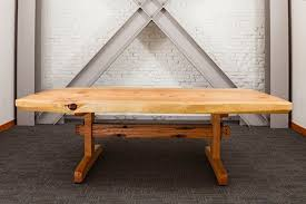 reclaimed wood conference table portland oregon