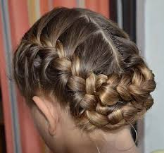 hair braid across back of head 40 two french braid hairstyles for your perfect looks