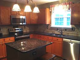 Tile Under Kitchen Cabinets Granite Countertop Painting Laminate Kitchen Cabinets No Grout