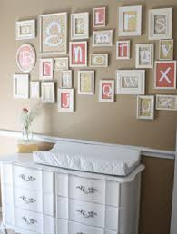 Nursery Wall Decor Letters Nursery Wall Decor Nursery Decorating Ideas