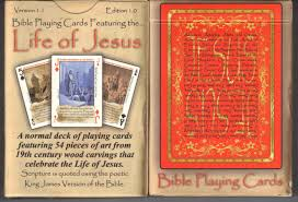 cards by newt u0027s life of jesus deck bible playing cards is only