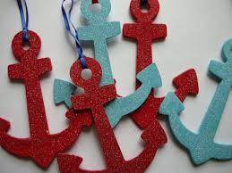 anchor ornaments the celebration society