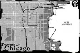 Downtown Chicago Map by The Next Setting Information