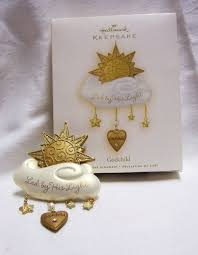 ornament 2008 hallmark ornament godchild