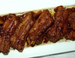 cuisiner travers de porc travers de porc à la sauce soja recettes ensoleillees