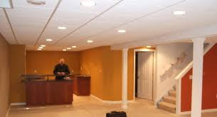 recessed lighting recessed lighting drop ceiling in basement drop
