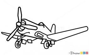 how to draw skipper planes cartoon