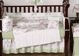 Shabby Chic Crib Bedding Rileys Roses Crib Bedding Set By Sweet Jojo Designs 9 Piece