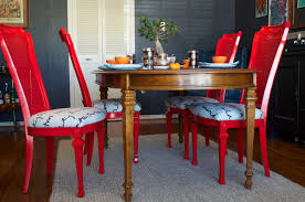 DIY Ideas Spray Paint And Reupholster Your Dining Room Chairs - Painting dining room chairs