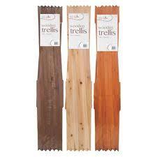 4 Ft Fence Panels With Trellis 4 1 6ft Height Fence Panels Ebay