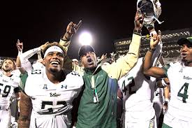 usf rolls past rival ucf but is denied spot in aac title the