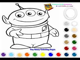toy story coloring pages for kids toy story coloring pages games