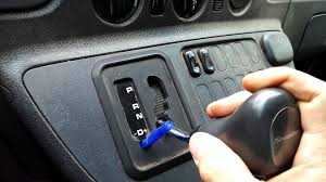 how to release a locked shift lever on a dodge sprinter youtube