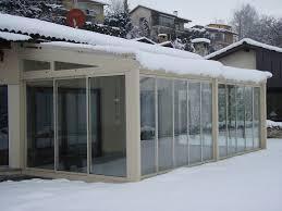 tettoie in legno e vetro verande in vetro solide strutture in alluminio con tetto in vetro