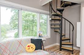 small loft ideas how to use small lofts to maximize space salter spiral stair