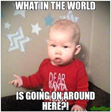 Whats Going On Meme - what in the world is going on around here meme custom 17457
