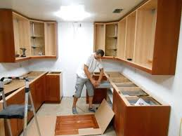 How To Install Kitchen Cabinets Yourself How To Replace Kitchen Cabinets Adding Glass To Kitchen Cabinet